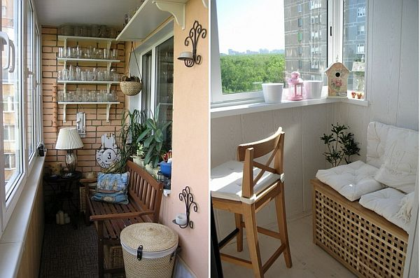 Kucuk balkonlar icin dekorasyon fikirleri hanimefendi.com - .