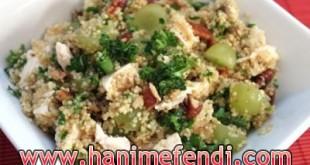 Tavuklu bulgur salatası tarifi