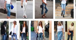 Kadınlara Özel Beyaz Tişört ve Jean Kombini Nasıl Yapılır?