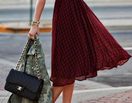 ekose elbiseler