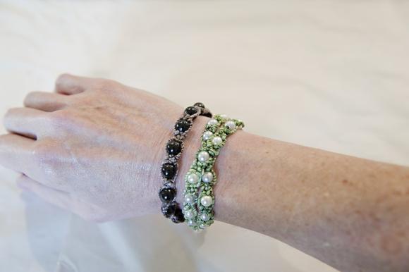 Shamballa Inspired Bracelets 16 Takı tasarımı: Boncuklu bileklik yapımı