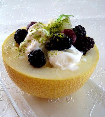 Dondurmalı Meyveli Kavun