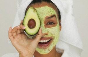 avokado maskesi