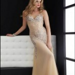 stylish prom dresses 2014 collection in western style 3 pclayer 150x150 2014 Abiye Modası