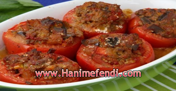 Kıymalı domates dolması tarifi
