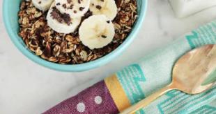 Çikolatalı Vegan Granola Tarifi İle Güne Zinde Başlayın